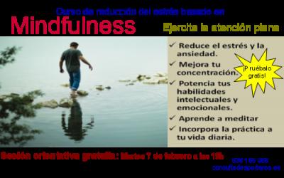 Nuevo curso de Reducción del estrés basado en Mindfulness