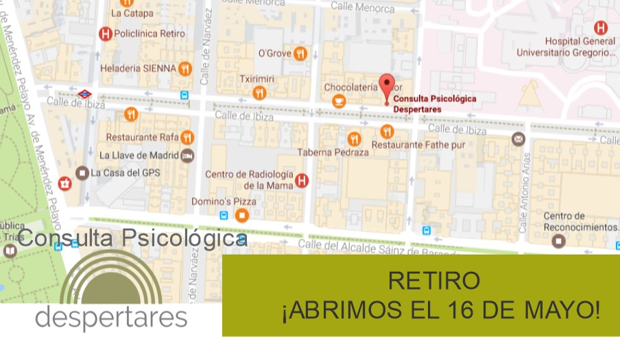 Apertura de Nuevo Centro Despertares en Madrid (zona Retiro)